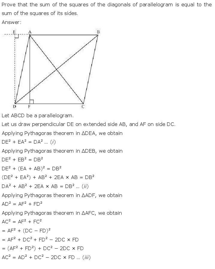 10th, Maths, Triangles 69