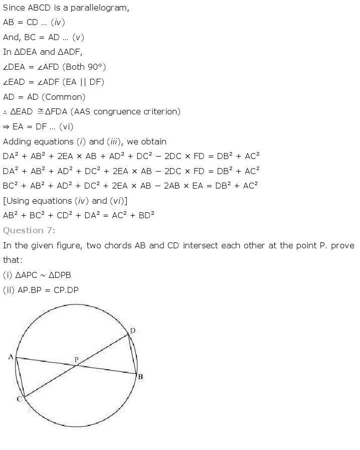 10th, Maths, Triangles 70