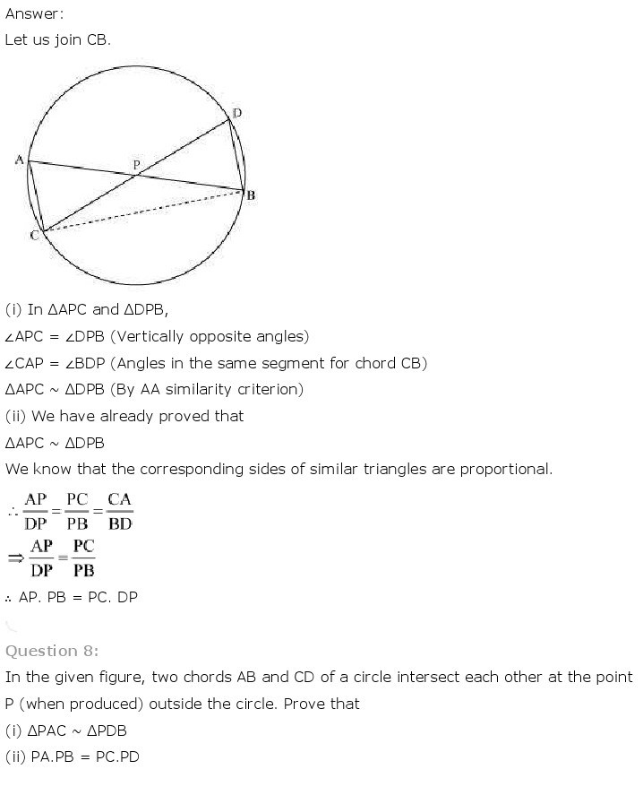 10th, Maths, Triangles 71