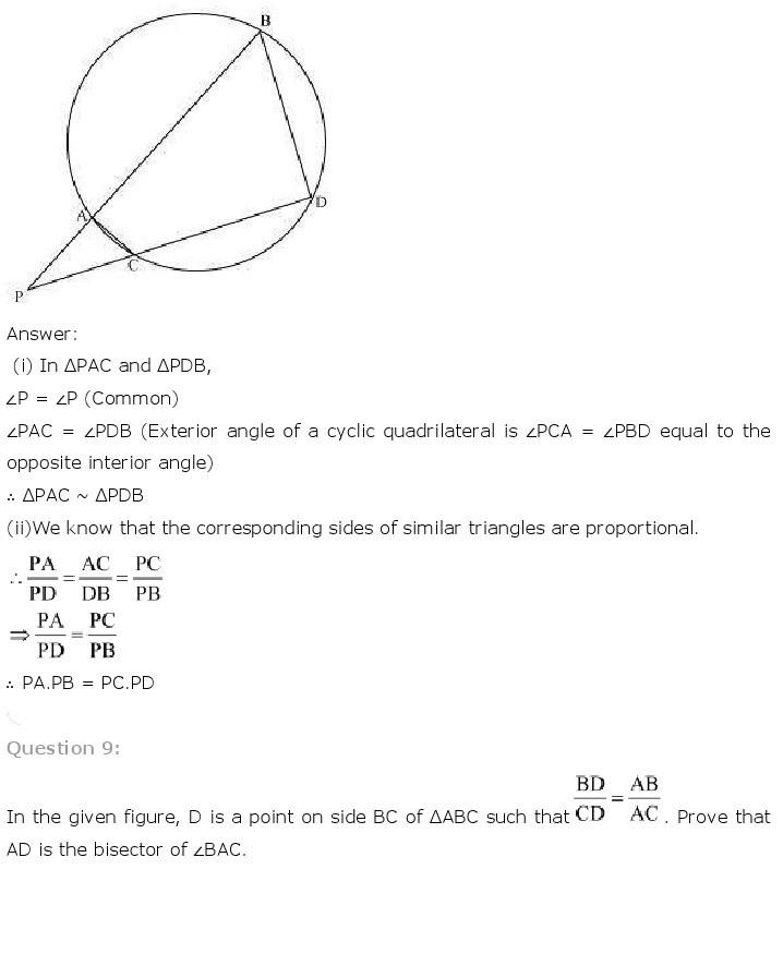 10th, Maths, Triangles 72