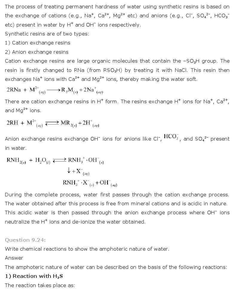 11th, Chemistry, Hydrogen 14