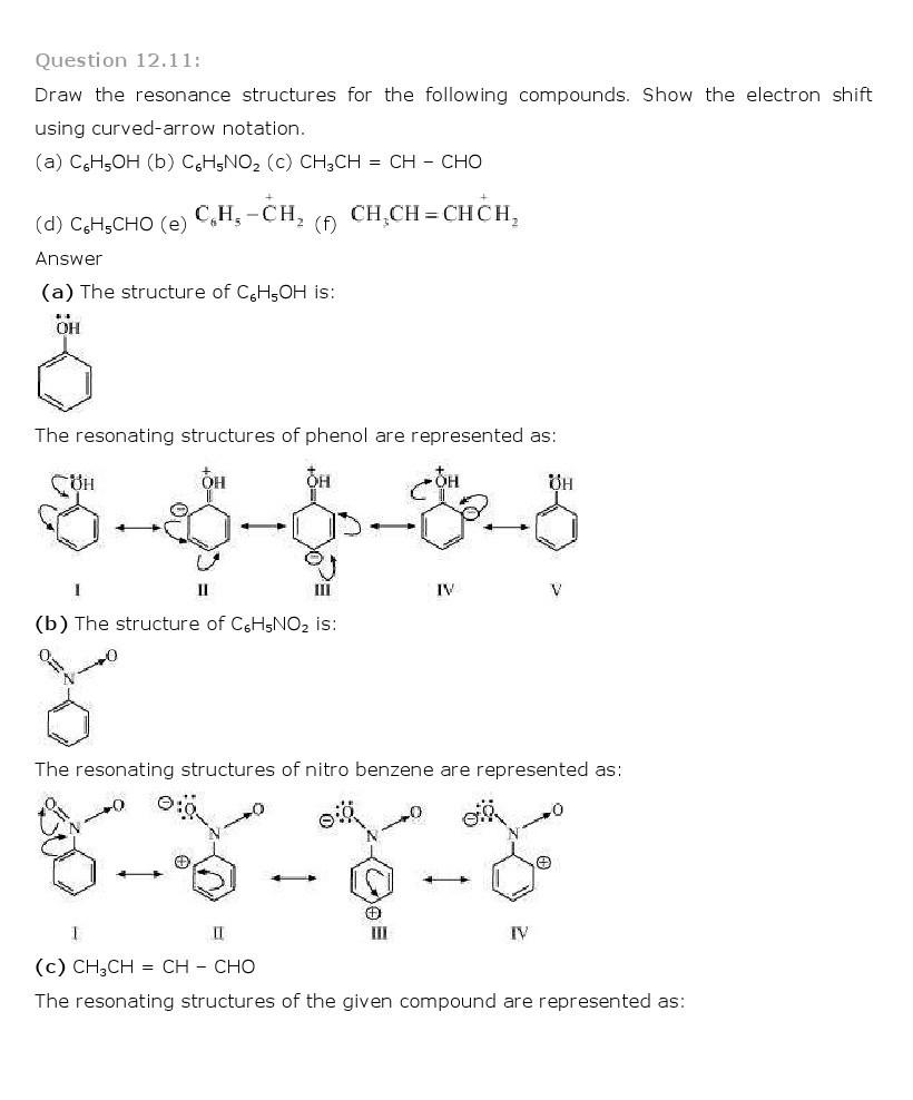11th, Chemistry, Organic Chemistry 11