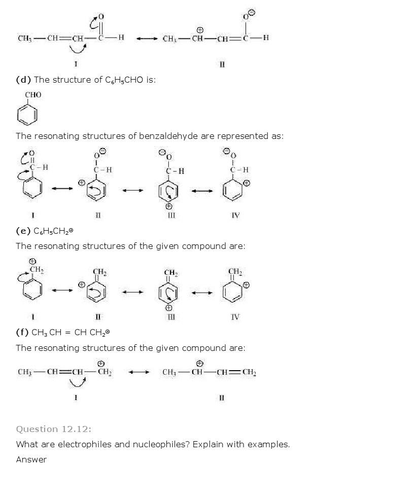 11th, Chemistry, Organic Chemistry 12