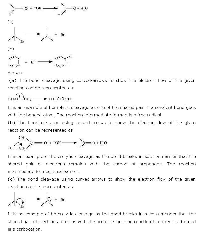 11th, Chemistry, Organic Chemistry 16