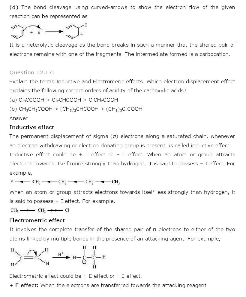 11th, Chemistry, Organic Chemistry 17