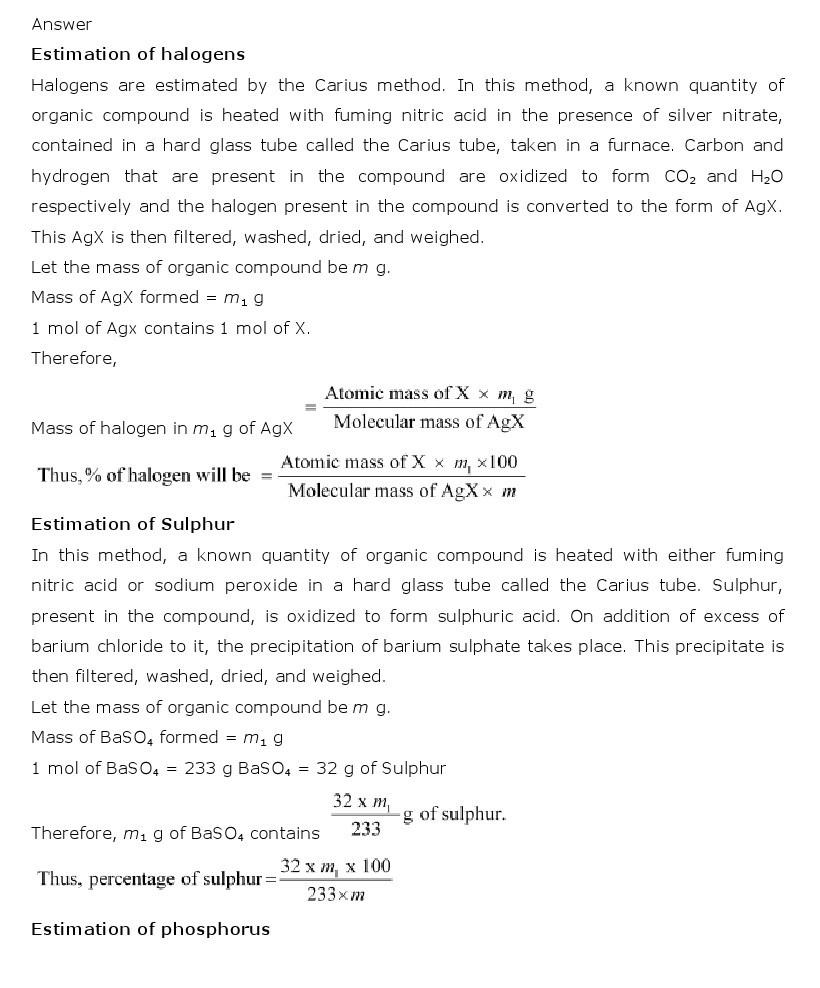 11th, Chemistry, Organic Chemistry 25