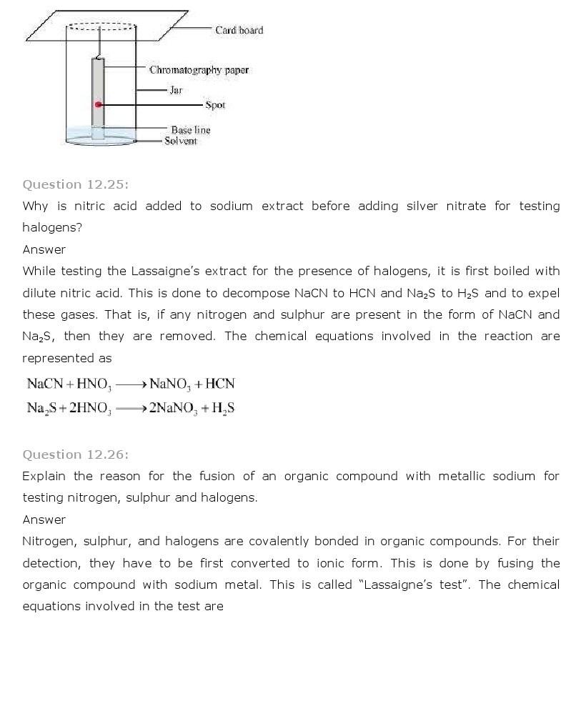 11th, Chemistry, Organic Chemistry 27