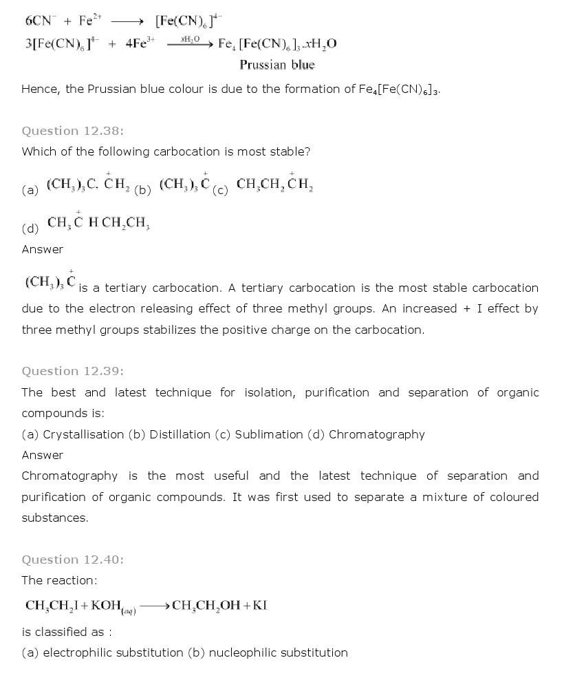 11th, Chemistry, Organic Chemistry 33