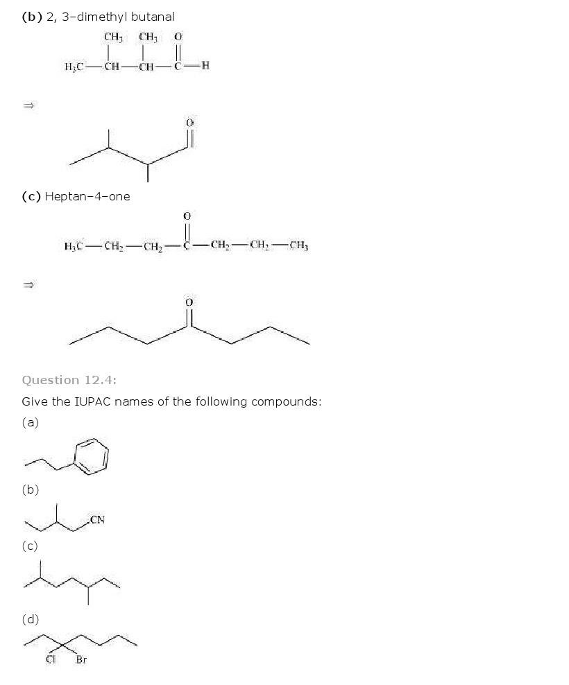 11th, Chemistry, Organic Chemistry 4