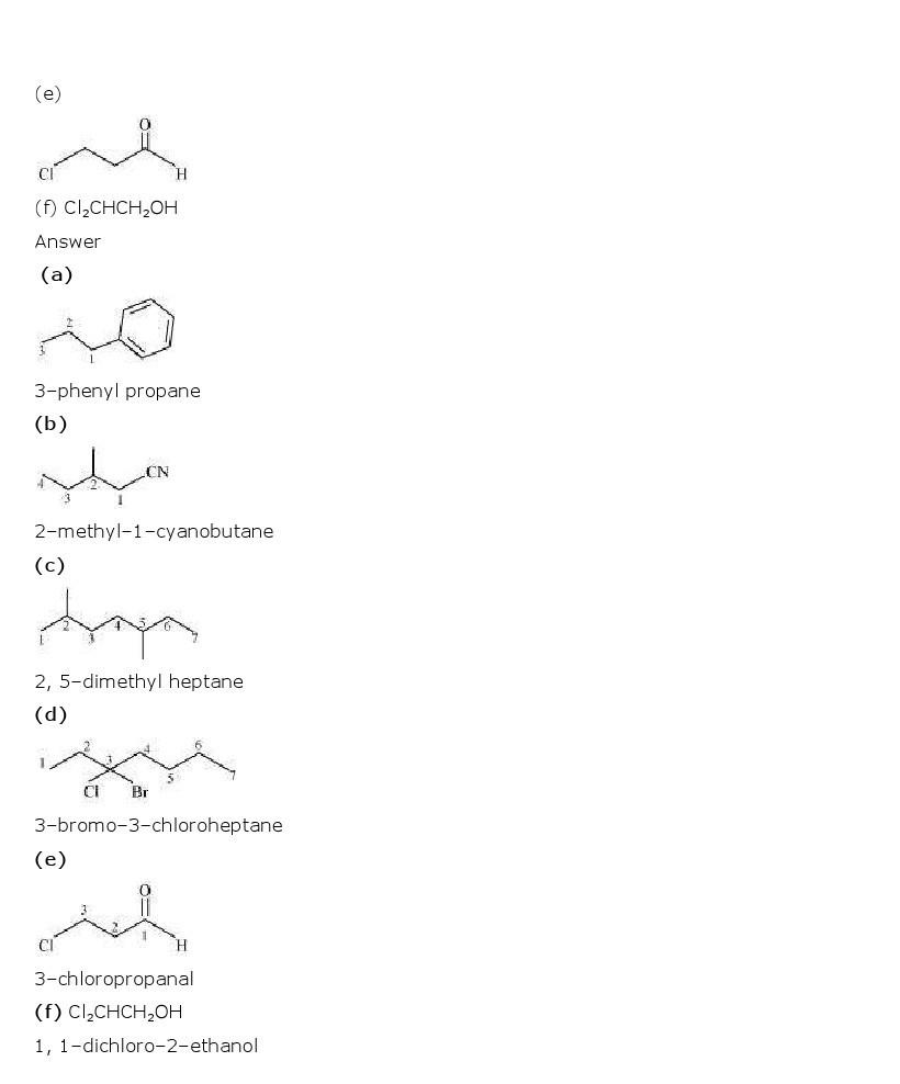 11th, Chemistry, Organic Chemistry 5