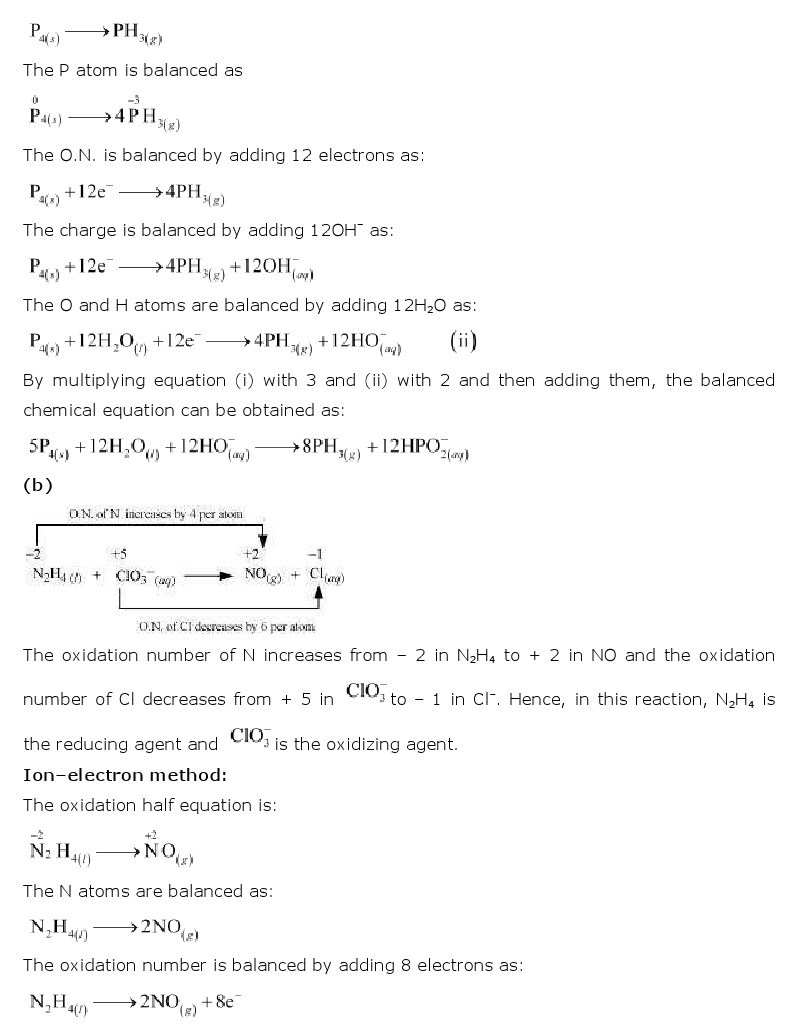 11th, Chemistry, Redox Reactions 21