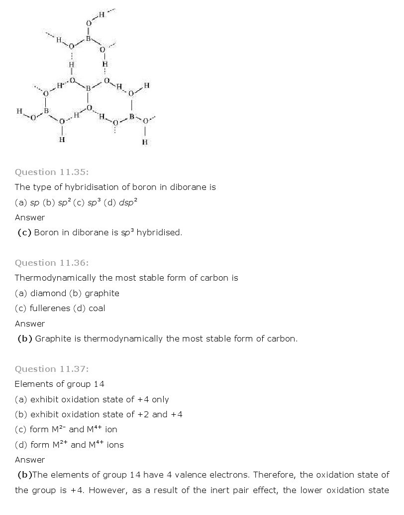 11th, Chemistry, The p-Block Elements 23