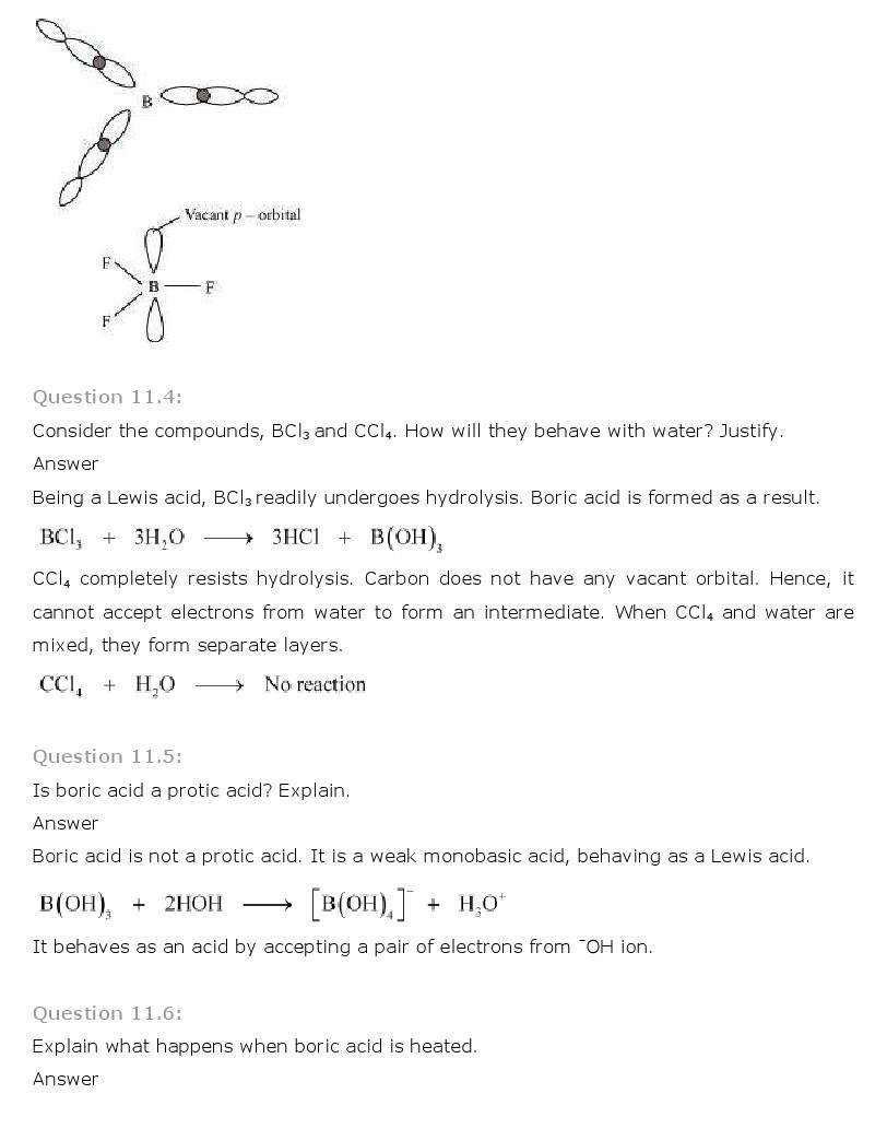 11th, Chemistry, The p-Block Elements 3