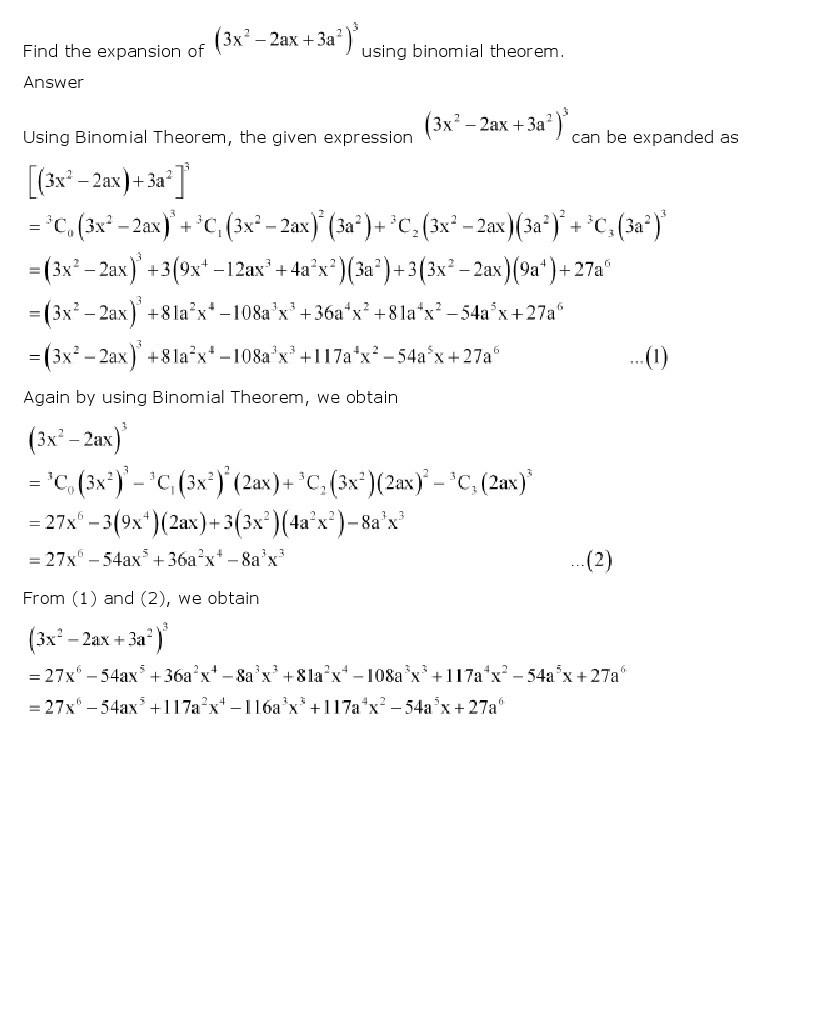 11th, Maths, Binomial Theorem 25