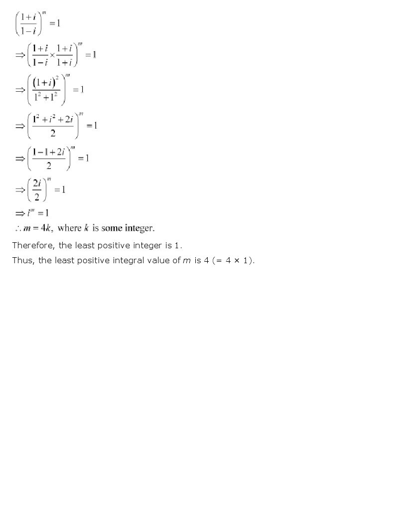 11th, Maths, Complex Numbers & Quadratic Equations 34