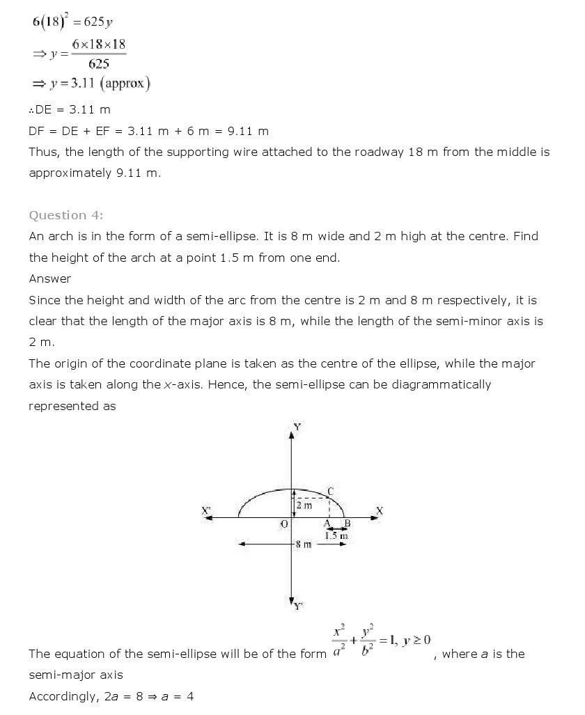 worksheet Conic Sections Worksheet conic sections class 11 mathematics ncert solutions 11th maths 44