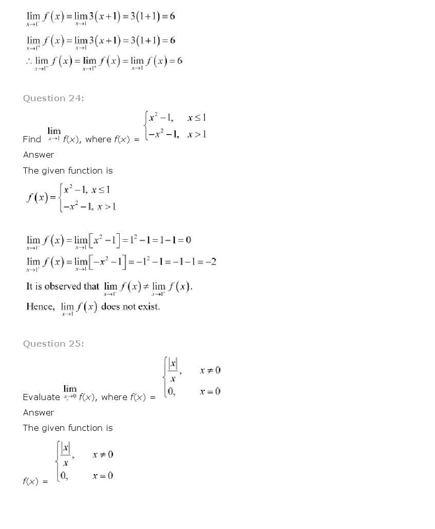 11th, Maths, Limits & Derivatives 13