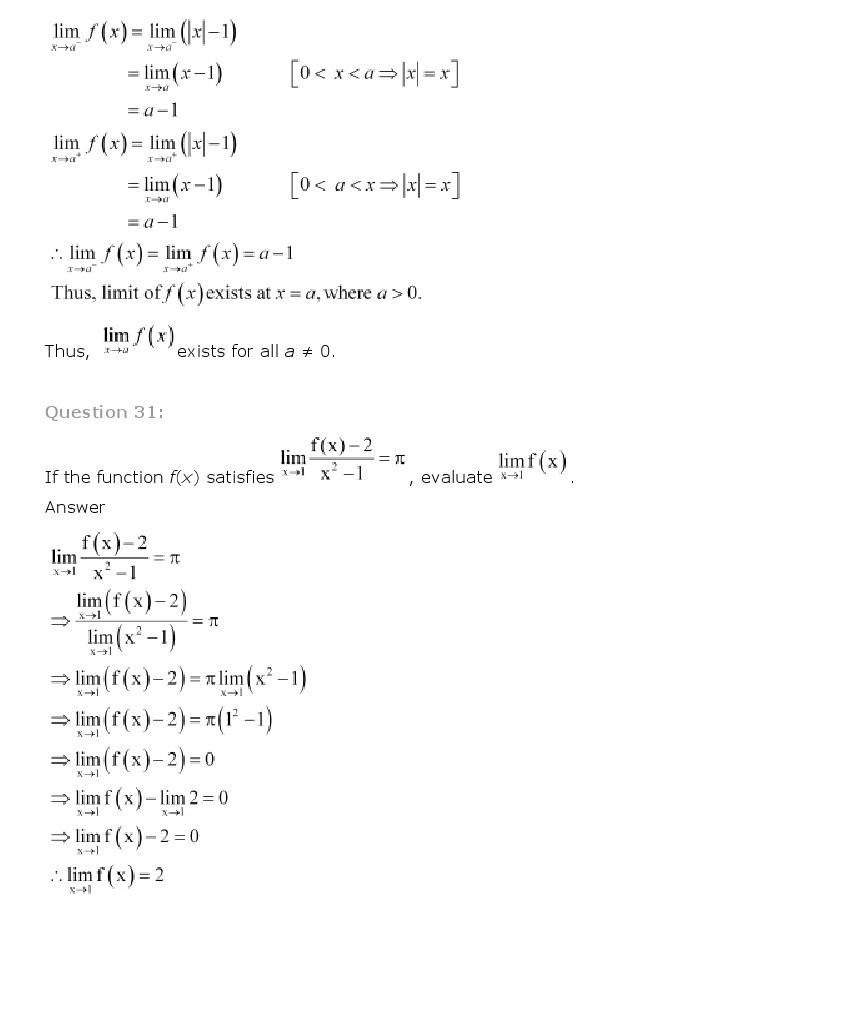 11th, Maths, Limits & Derivatives 19