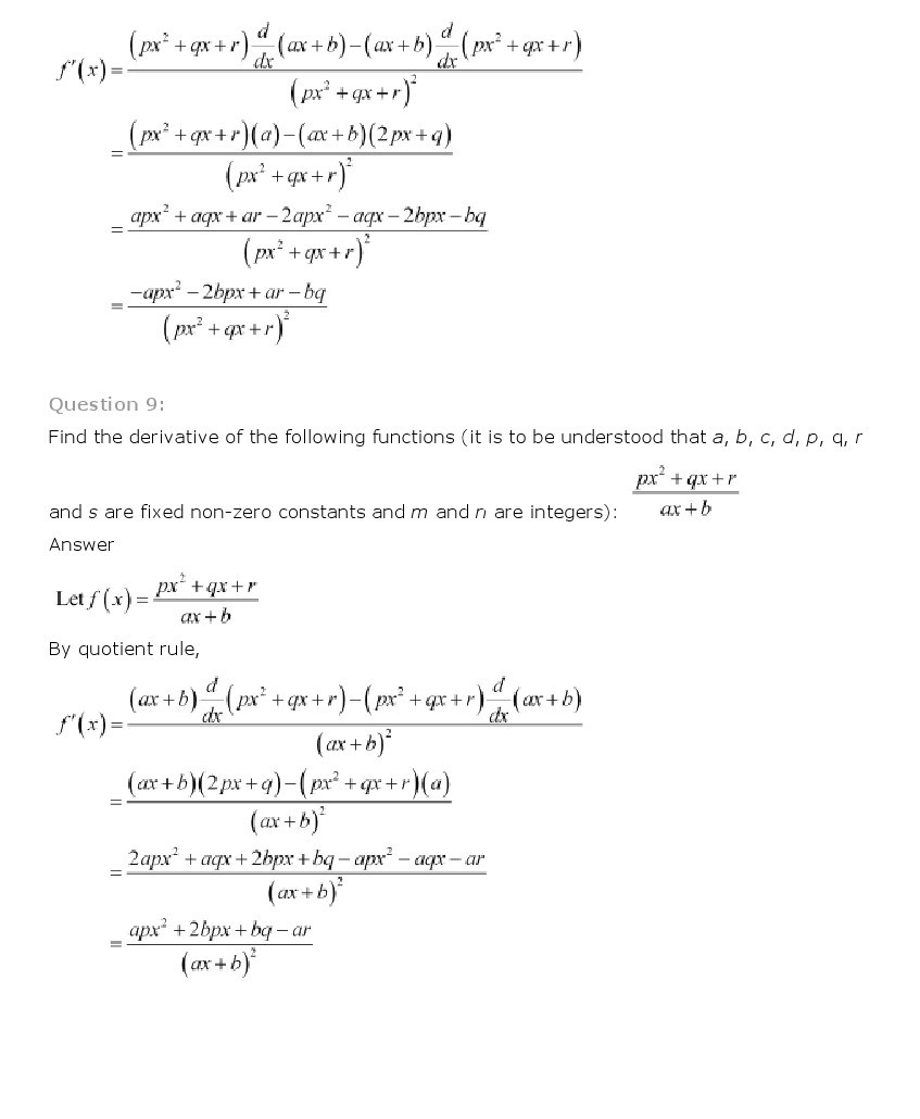 11th, Maths, Limits & Derivatives 47