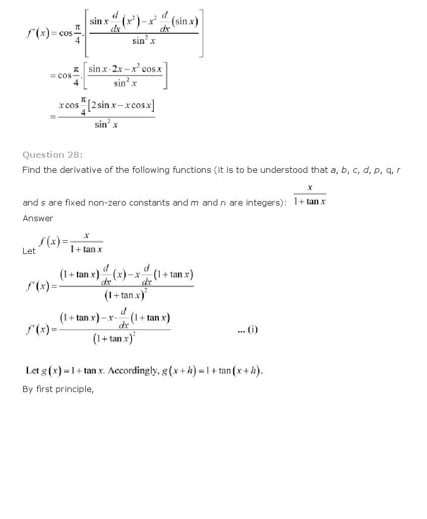 11th, Maths, Limits & Derivatives 64