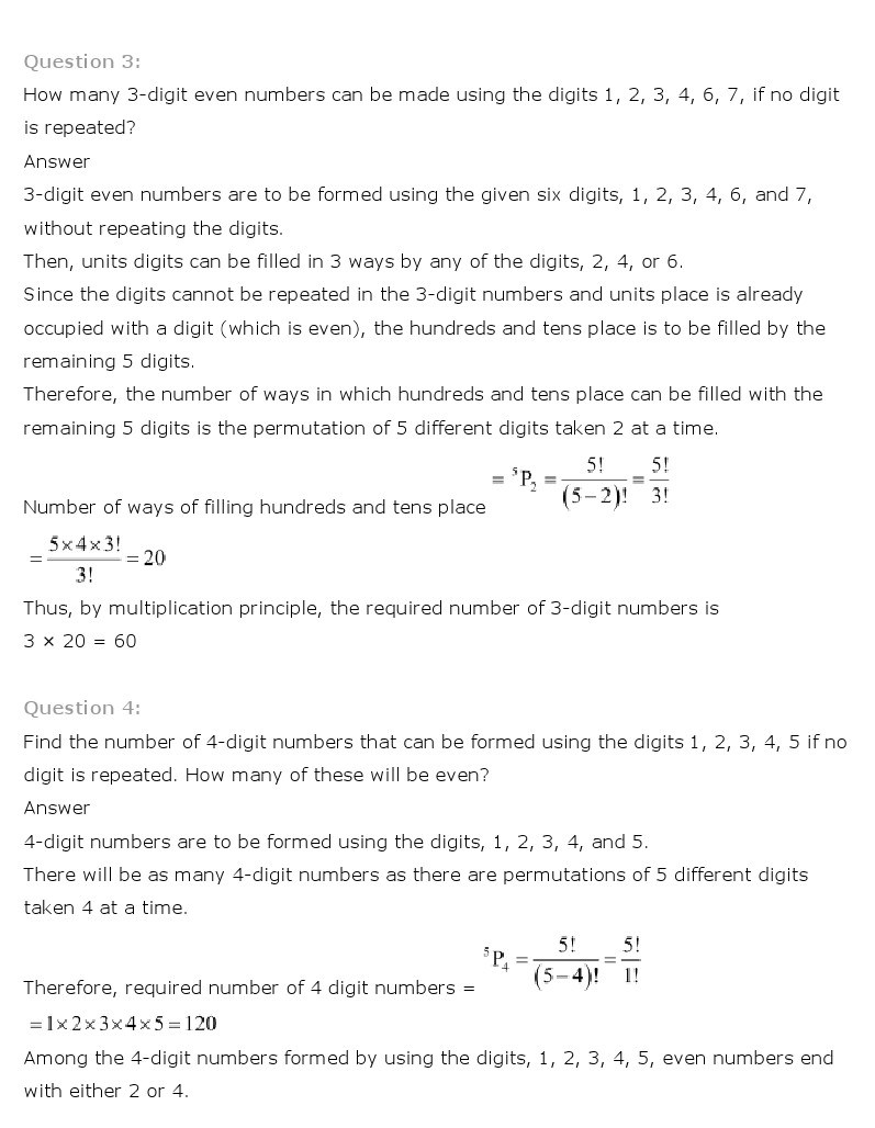 11th, Maths, Permutations & Combinations 7