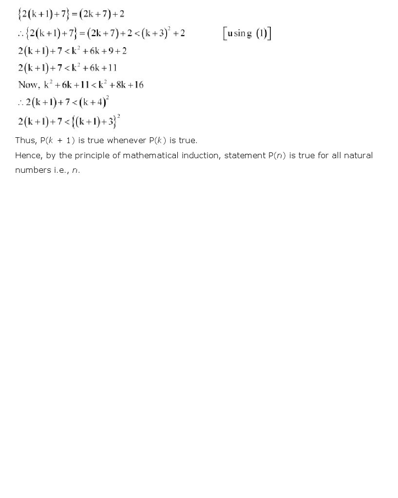 11th, Maths, Principle of Mathematical Induction 27