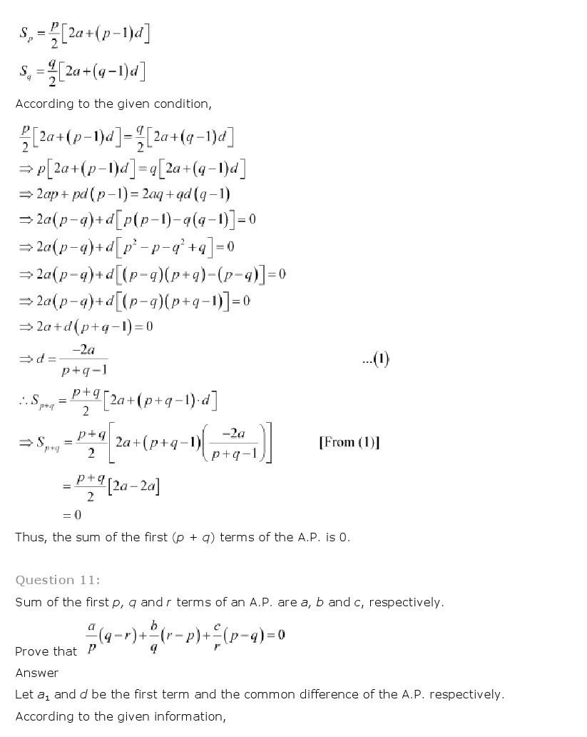 11th, Maths, Sequences & Series 14