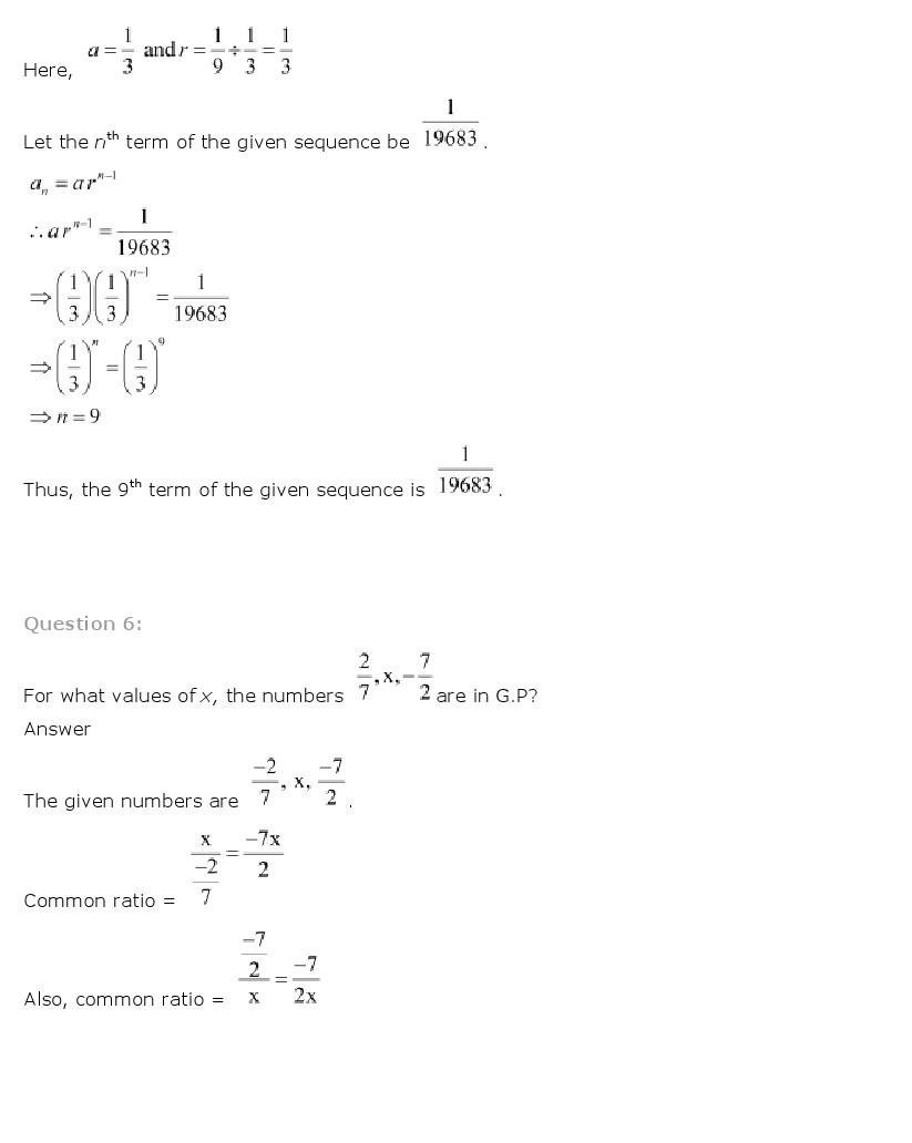11th, Maths, Sequences & Series 26