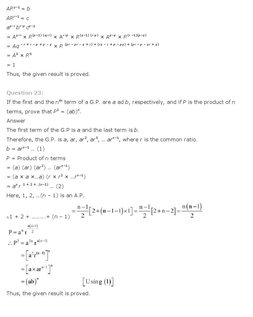 11th, Maths, Sequences & Series 38