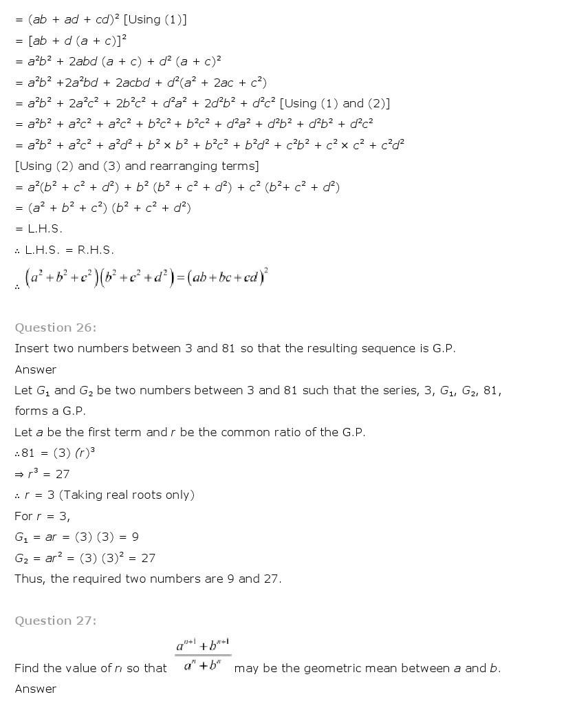 11th, Maths, Sequences & Series 40
