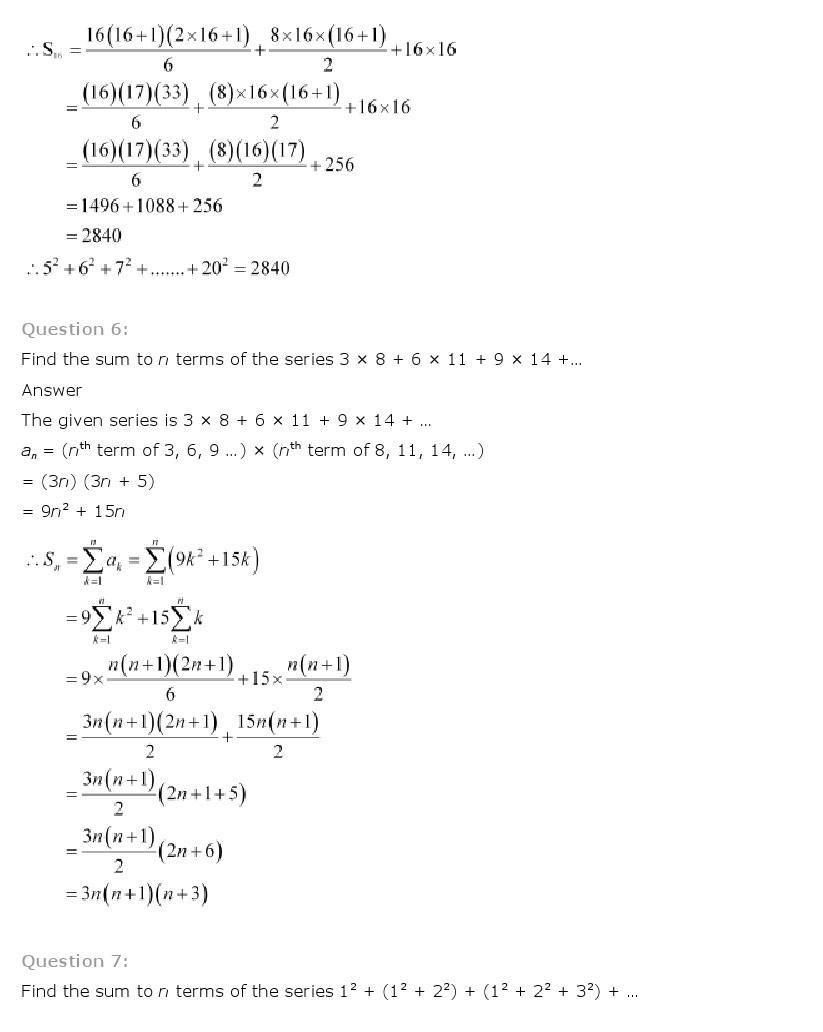 11th, Maths, Sequences & Series 49