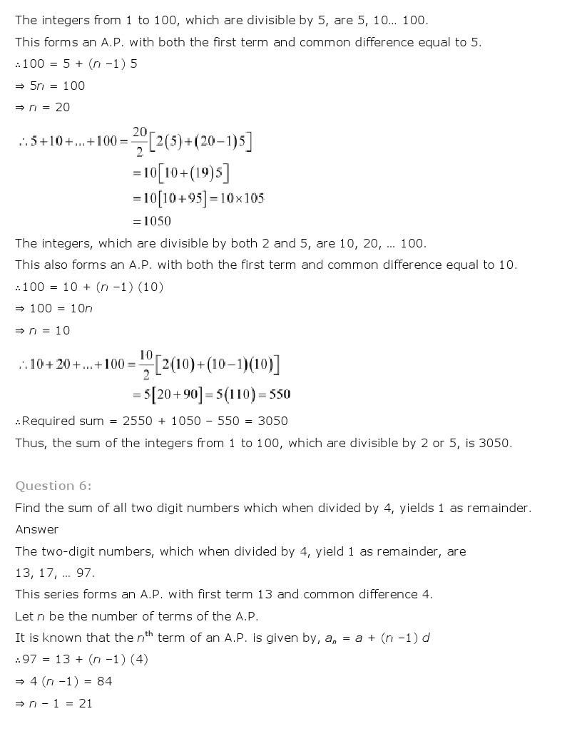 11th, Maths, Sequences & Series 56
