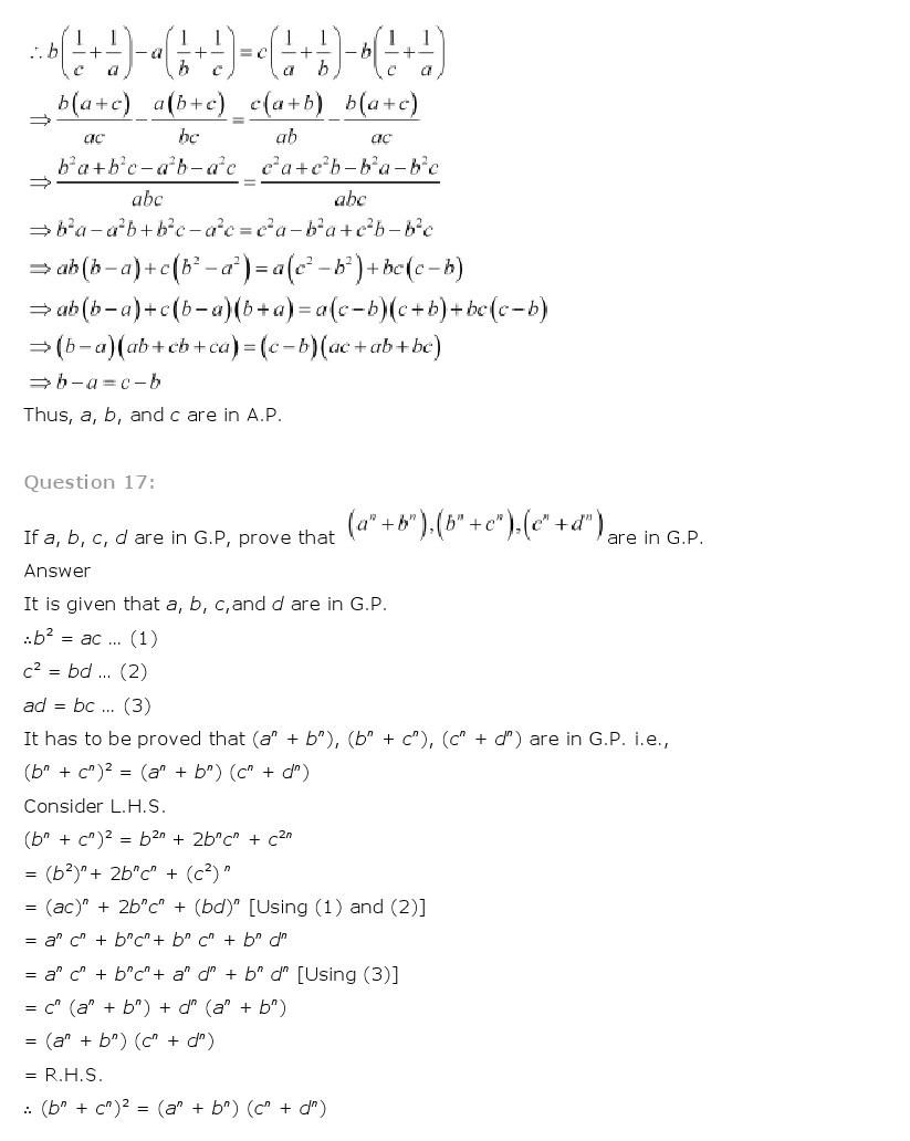 11th, Maths, Sequences & Series 65