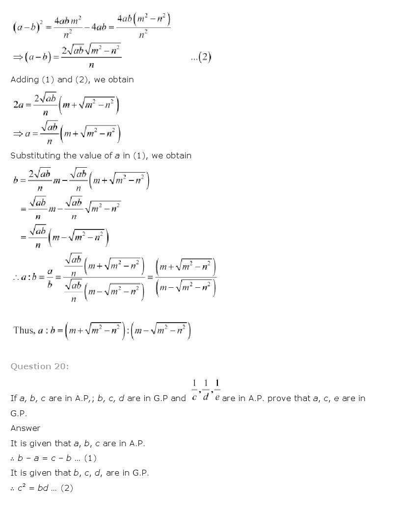 11th, Maths, Sequences & Series 68