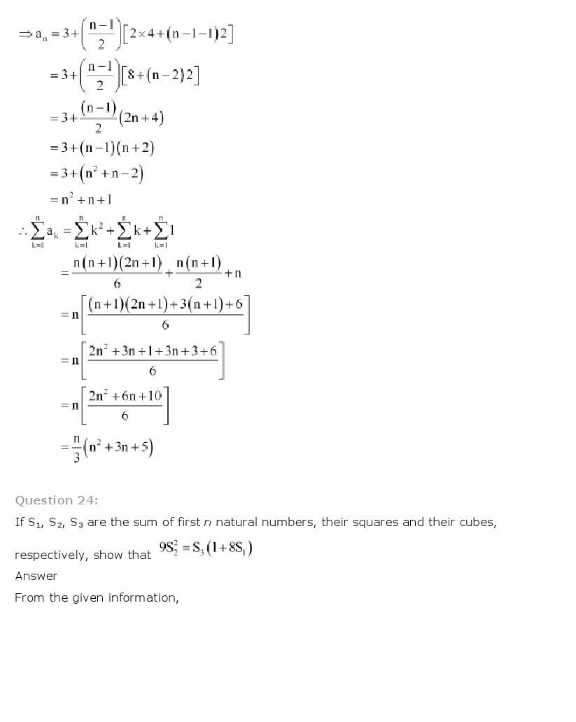 11th, Maths, Sequences & Series 72
