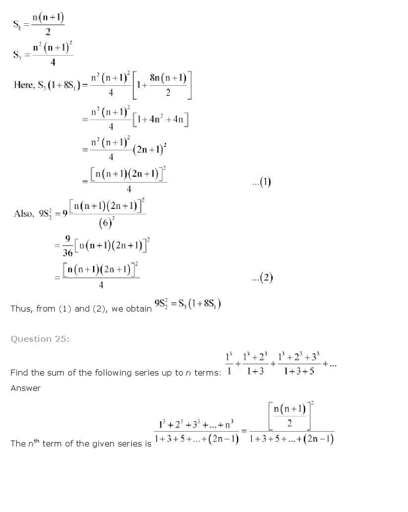 11th, Maths, Sequences & Series 73