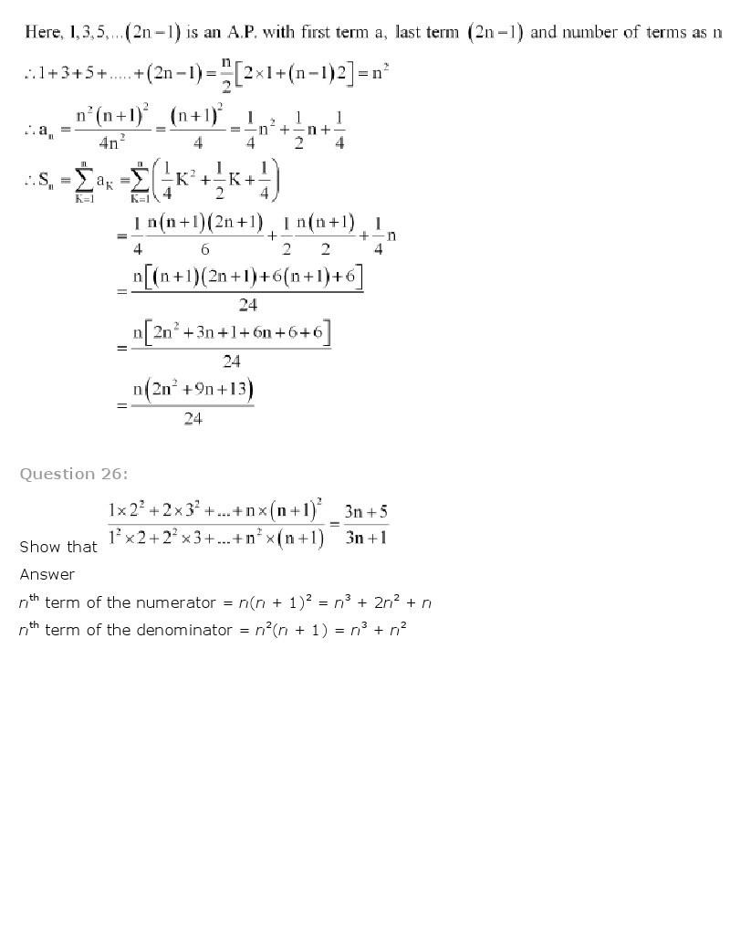 11th, Maths, Sequences & Series 74