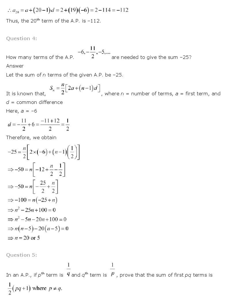 11th, Maths, Sequences & Series 9
