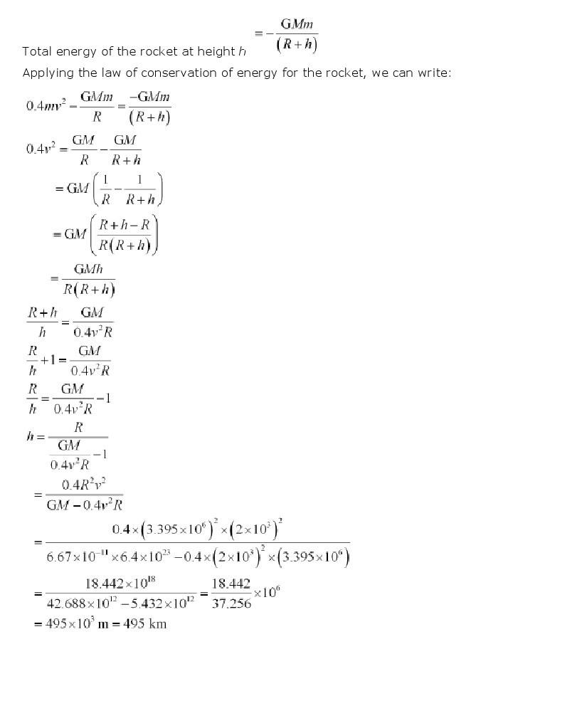 11th, Physics, Gravitation 23