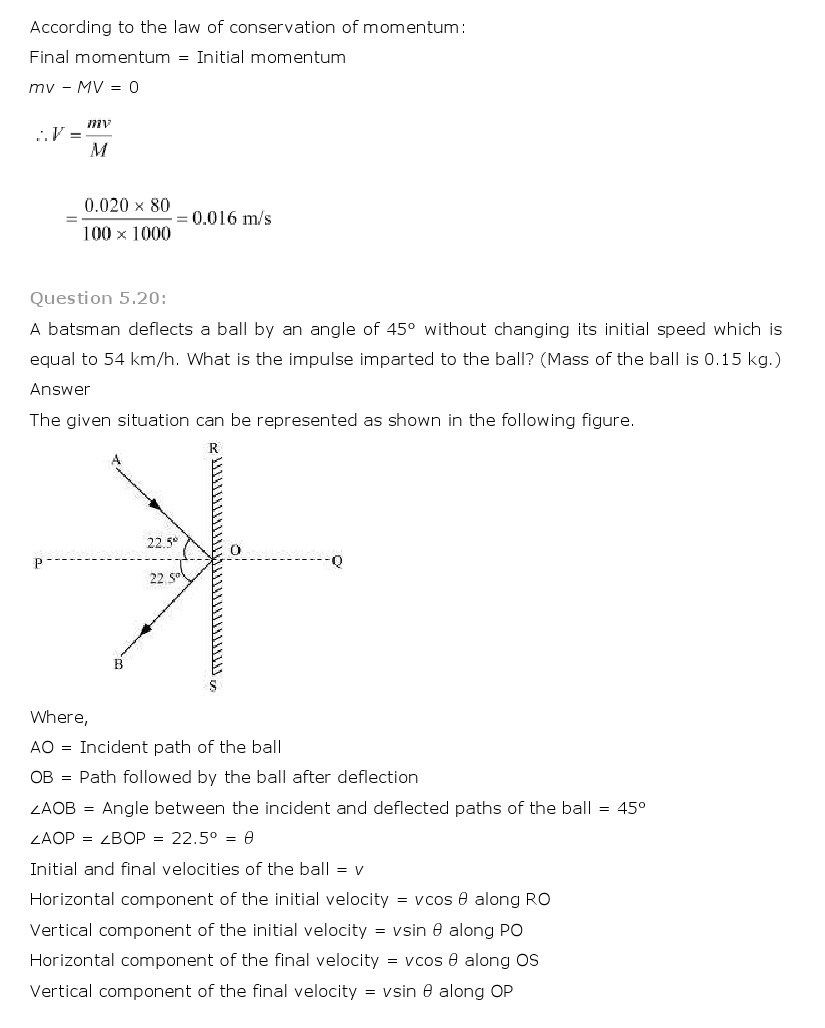 11th, Physics, Laws of motion 18