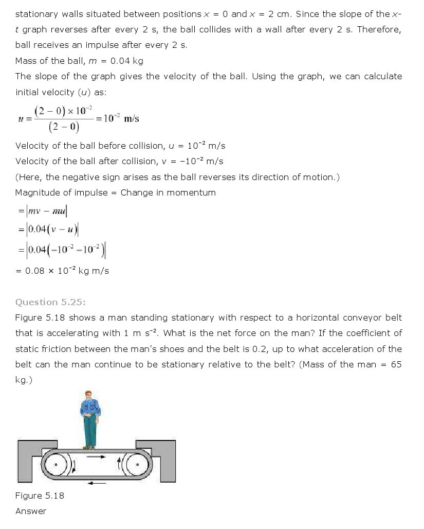 11th, Physics, Laws of motion 23