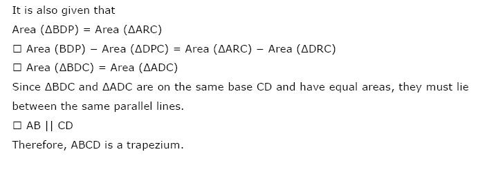 Areas of Parallelograms NCERT Solutions 24