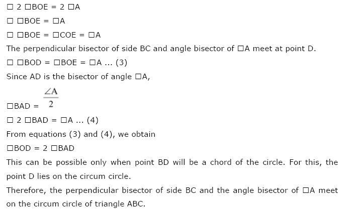 Circles NCERT Solutions 37