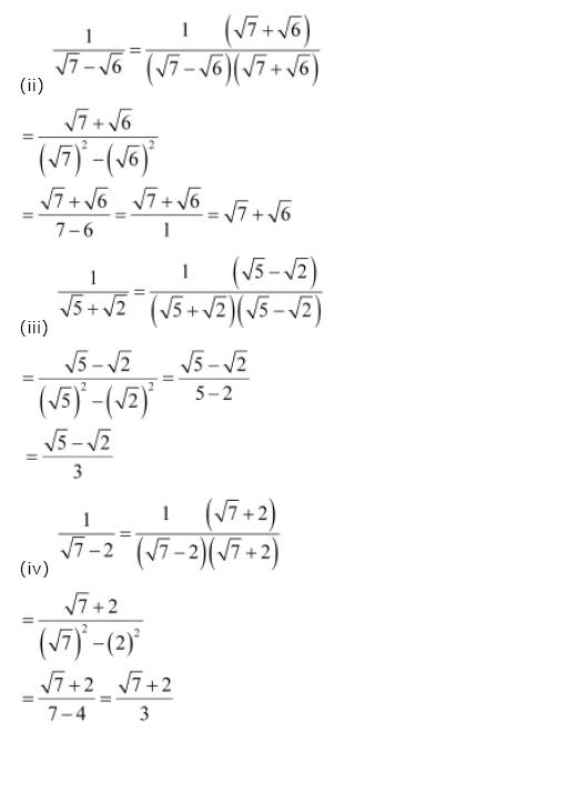 Number Systems NCERT Solutions 16