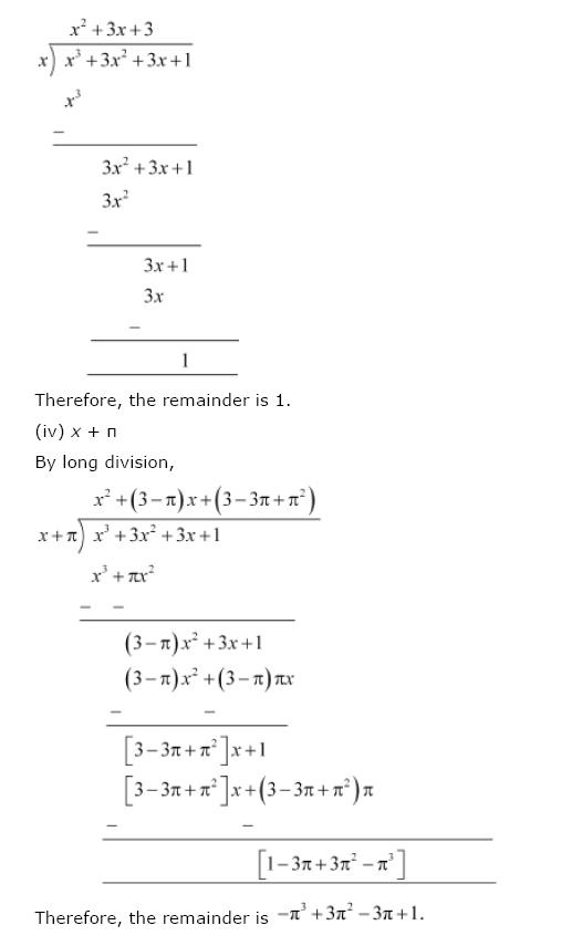 Polynomials NCERT Solutions 13
