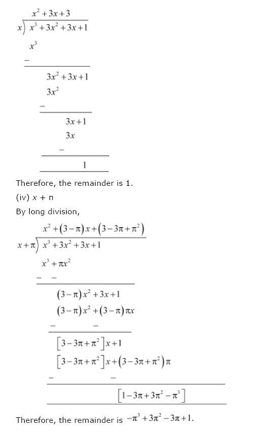 Polynomials NCERT Solutions 13