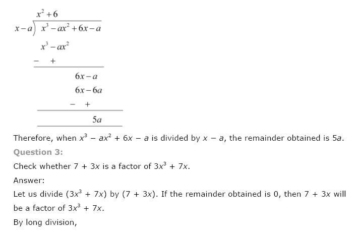 Polynomials NCERT Solutions 15