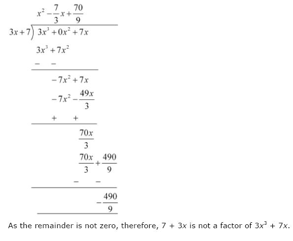 Polynomials NCERT Solutions 16