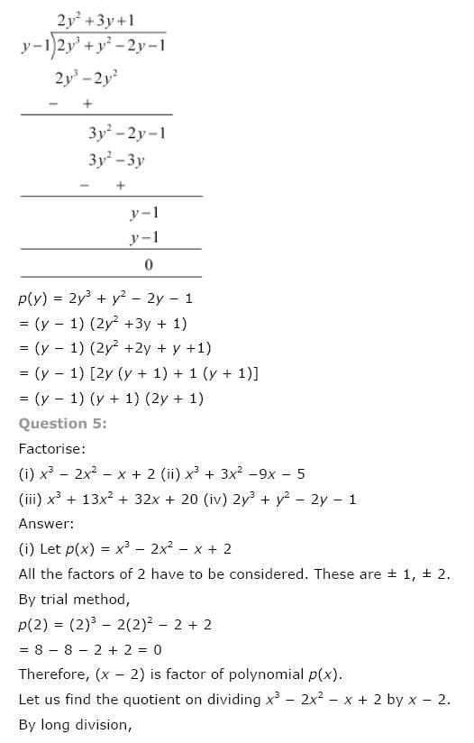 Polynomials NCERT Solutions 25