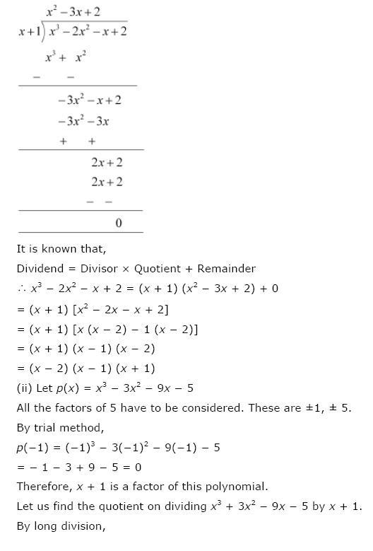 Polynomials NCERT Solutions 26